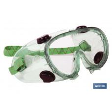 """Gafas, Antiproyecciones """"Doble Protección"""" Antivaho"""